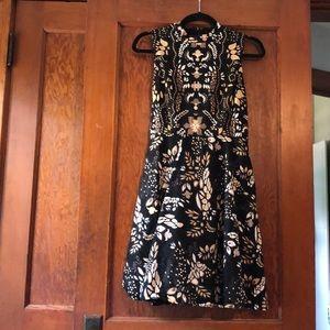 Eva Mendes print dress